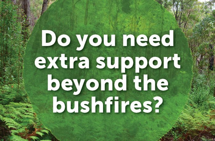 Bushfires of 2009 Community Support Project